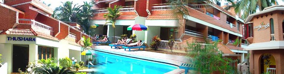 Hotel Thushara Kovalam Kerala India Banner